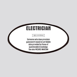 Funny Electrician Definition Patch