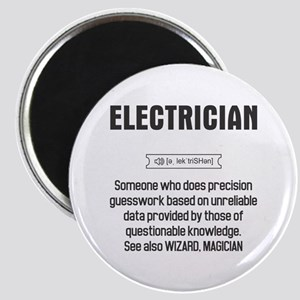 Funny Electrician Definition Magnets