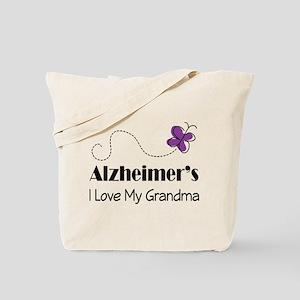 Alzheimer's Love My Grandma Tote Bag