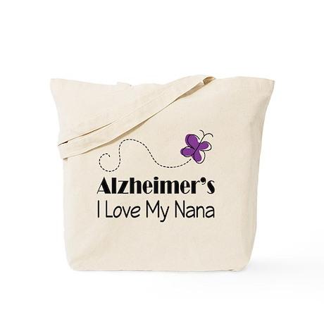 Alzheimer's Love My Nana Tote Bag