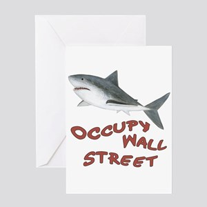 Occupy wall street greeting cards cafepress occupy wall street greeting card m4hsunfo