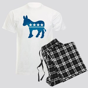 Democrats Donkey Men's Light Pajamas