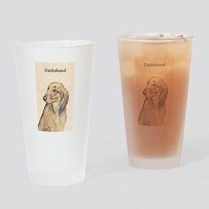 Dachshund (Longhaired) Drinking Glass