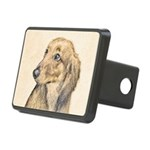 Dachshund (Longhaired) Rectangular Hitch Cover
