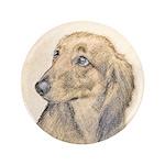 Dachshund (Longhaired) Button