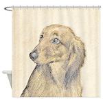 Dachshund (Longhaired) Shower Curtain