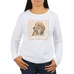 Dachshund (Longhaired) Women's Long Sleeve T-Shirt