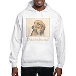 Dachshund (Longhaired) Hooded Sweatshirt