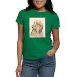 Dachshund (Longhaired) Women's Dark T-Shirt