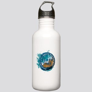 California - Santa Bar Stainless Water Bottle 1.0L