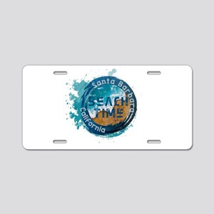 California - Santa Barbara Aluminum License Plate