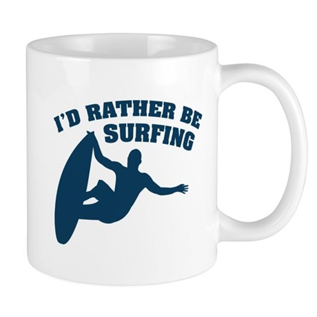 I'd rather be surfing Mug