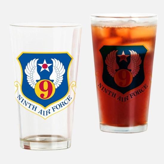 Cute Air force wall Drinking Glass