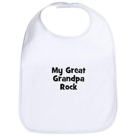 My Great Grandpa Rock Bib