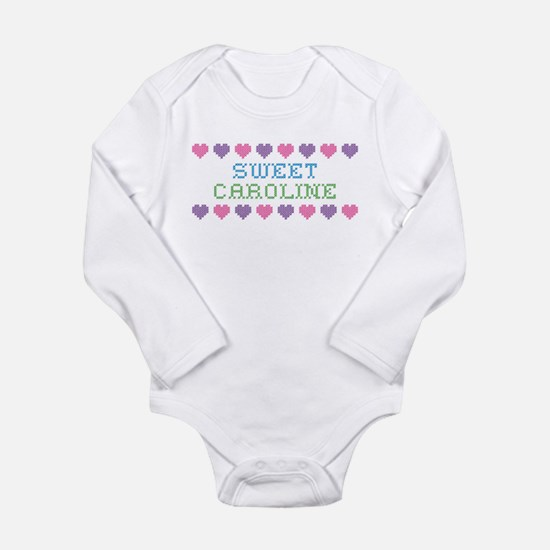 Sweet CAROLINE Long Sleeve Infant Bodysuit
