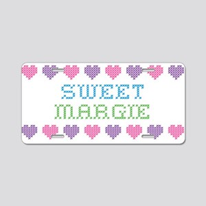 Sweet MARGIE Aluminum License Plate