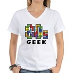80s Geek Women's V-Neck T-Shirt