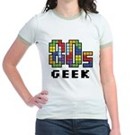 80s Geek Jr. Ringer T-Shirt
