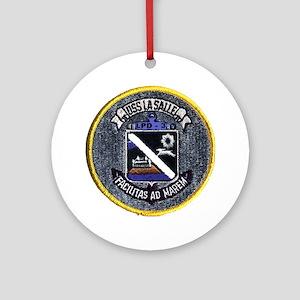 USS La Salle LPD 3 Ornament (Round)