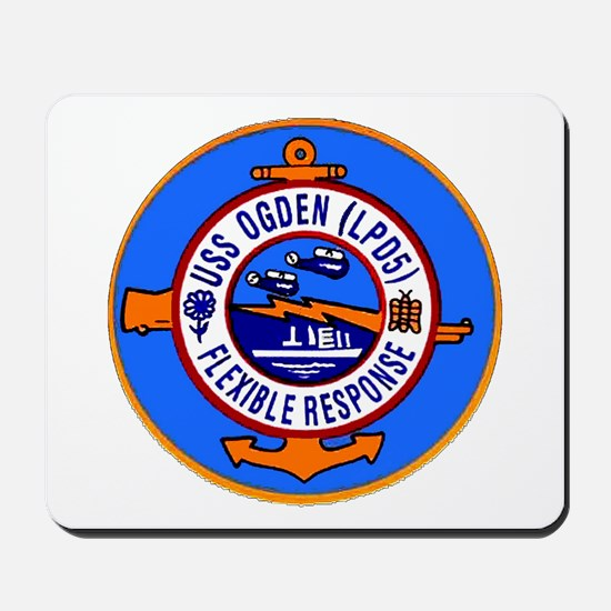USS Ogden LPD 5 Mousepad
