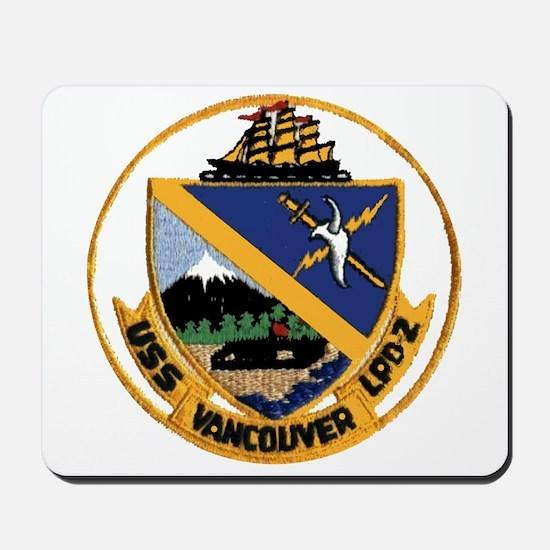 USS Vancouver LPD 2 Mousepad