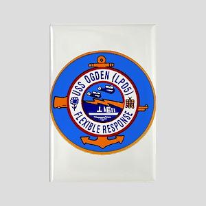 USS Ogden LPD 5 Rectangle Magnet