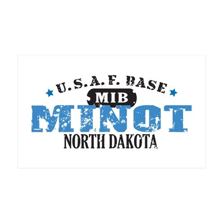 Minot Air Force Base 38.5 x 24.5 Wall Peel