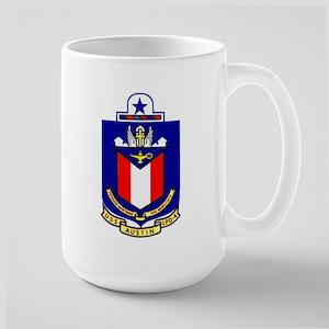 USS Austin LPD 4 Large Mug