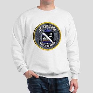 USS La Salle LPD 3 Sweatshirt