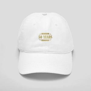 Stylish 50th Wedding Anniversary Cap