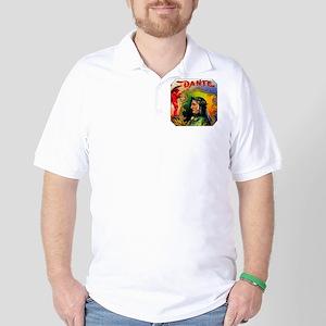 Dante Devil Cigar Label Golf Shirt