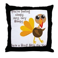 Thanksgiving Vegan Throw Pillow