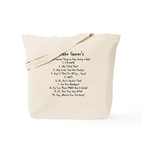 Top Ten Scariest Things to He Tote Bag