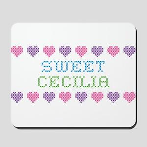 Sweet CECILIA Mousepad