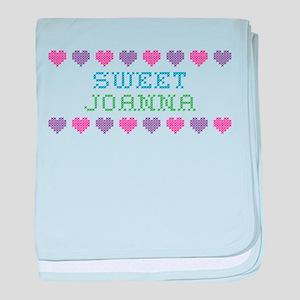 Sweet JOANNA baby blanket