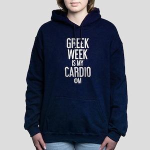 Phi Mu Greek Week Women's Hooded Sweatshirt