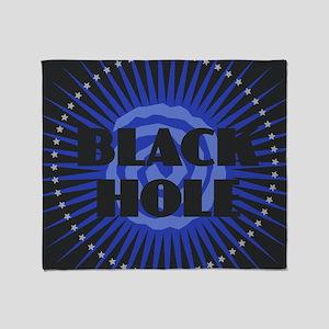 Black Hole Throw Blanket