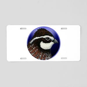 Bobwhite Quail 2 Aluminum License Plate