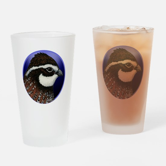 Bobwhite Quail 2 Drinking Glass