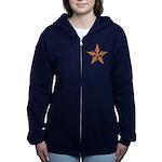 (2 Sided) Shooting Star Women's Zip Sweatshirt