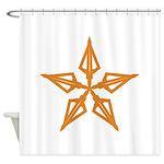 Shooting Star Shower Curtain