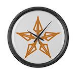 Shooting Star Large Wall Clock