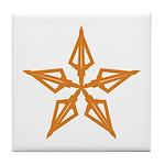 Shooting Star Tile Coaster