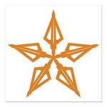 Shooting Star Square Car Magnet 3