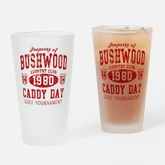 Caddyshack Bushwood CC Caddy Drinking Glass