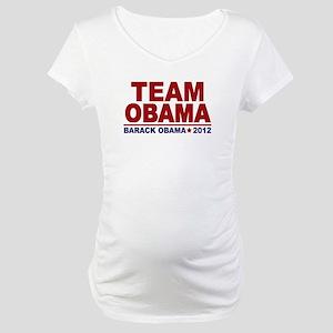 Team Obama 2012 Maternity T-Shirt