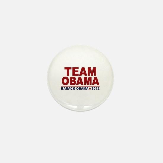 Team Obama 2012 Mini Button