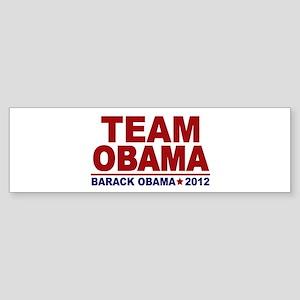 Team Obama 2012 Sticker (Bumper)
