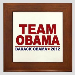 Team Obama 2012 Framed Tile