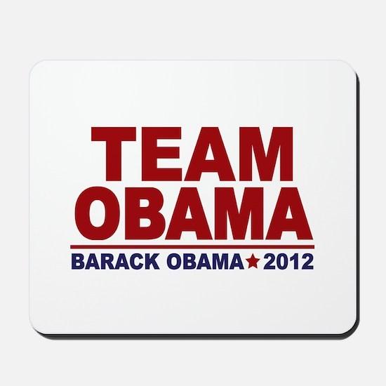 Team Obama 2012 Mousepad